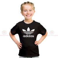 Adidas Black Kids Girl T-Shirt