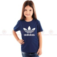 Adidas Blue Kids Girl T-Shirt