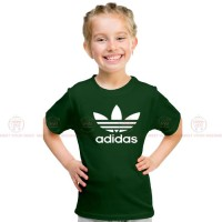 Adidas Green Kids Girl T-Shirt