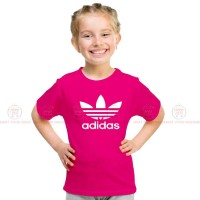 Adidas Pink Kids Girl T-Shirt