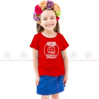 Girls Power Red Kids Girl T-Shirt