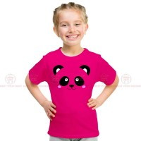 Panda Pink Kids Girl T-Shirt