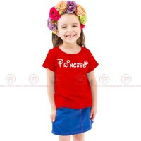 Princes Red Kids Girl T-Shirt