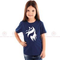 Stylish Design Blue Kids Girl T-Shirt