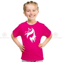 Stylish Design Pink Kids Girl T-Shirt