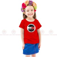 Tommy Jeans Red Kids Girl T-Shirt