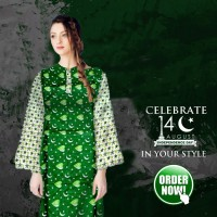 Dil Dil Pakistan Kurti for Women's
