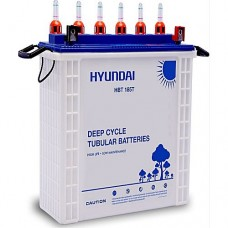 Hyundai Deep Cycle Tubular Battery HBT185T