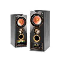 Audionic Cooper 5 Wooden Speakers With Bluetooth