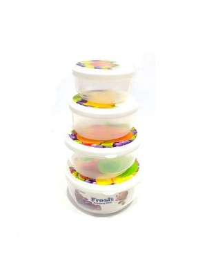 Quickshopping Food Storage Box Set - Pack of 4