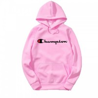 Champ Best Quality Pink Hoodies For Ladies