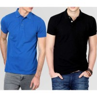 Bundle Of 2 Plain High Quality Polo