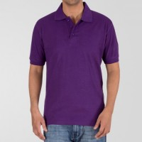 Plain High Quality Polo in Purple