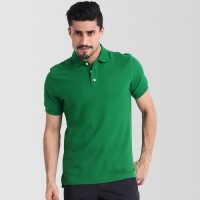 Plain High Quality Polo in Green