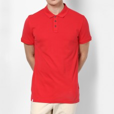 Plain High Quality Polo in Red