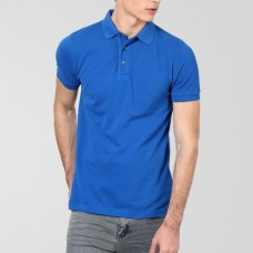 Plain High Quality Polo in Royal Blue