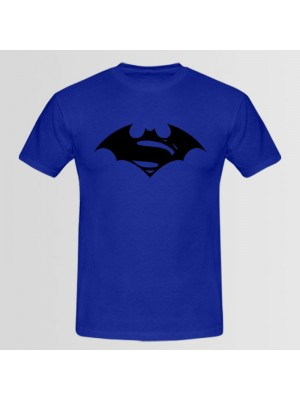 Batman vs Superman Printed Round Neck T-Shirt