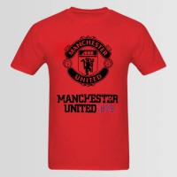 Manchester Printed Round Neck T-Shirt