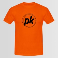 PK Printed Round Neck T-Shirt
