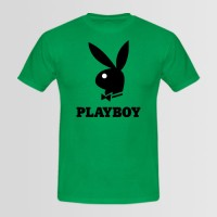 Playboy Printed Round Neck T-Shirt