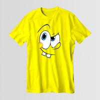 SpongeBob Round Neck T-Shirt in Yellow D 2