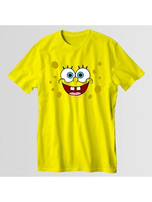 SpongeBob Round Neck T-Shirt in Yellow