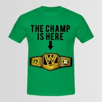 The Champ Printed Round Neck T-Shirt