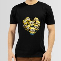 The Minions Printed Round Neck T-Shirt