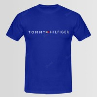 Tommy Hilfiger Printed Round Neck T-Shirt D 2