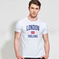 White London Printed Round Neck T-Shirt