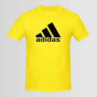 Adidas Printed Round Neck T-Shirt