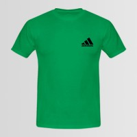Adidas Small Logo Printed Round Neck T-Shirt