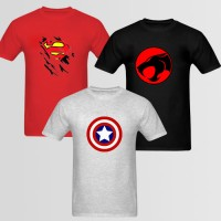 Bundle Of 3 Round Neck T-Shirts P 19