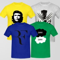 Bundle Of 4 Round Neck T-Shirts D1