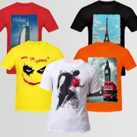 Bundle Of 5 Round Neck T-Shirts D1