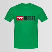 Diesel Printed Round Neck T-Shirt