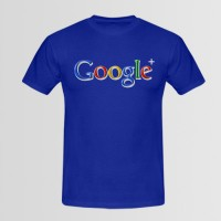 Google Printed Round Neck T-Shirt