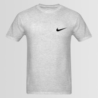 Nike Small Logo Printed Round Neck T-Shirt