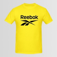 Reebok Printed Round Neck T-Shirt