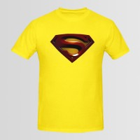 Superman Printed Round Neck T-Shirt