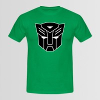 Transformers Printed Round Neck T-Shirt