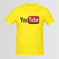 Youtube Printed Round Neck T-Shirt