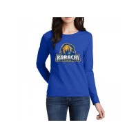 Karachi Kings Psl Women T-Shirt in Blue
