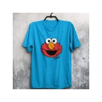 Light Blue Half Sleeves Round Neck T-Shirt