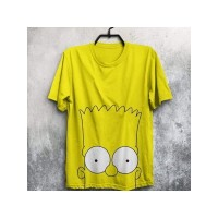 Samson yellow half Sleeves Printed T-shirt