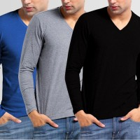 Bundle Of 3 V Neck T-Shirts P 10