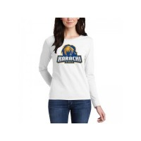 Karachi Kings Psl Women T-Shirt in White