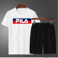 Fila Summer T-Shirt & Shorts For Men's
