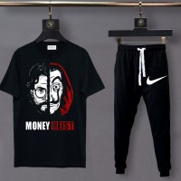 Money Heist Summer Tracksuit For Men's