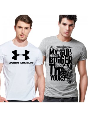 Bundle of 2 Summer Collection Printed T-Shirts Ts-001